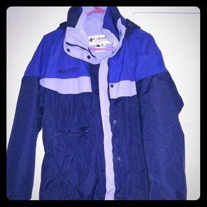 Columbia Ski coat with inner liner fleece